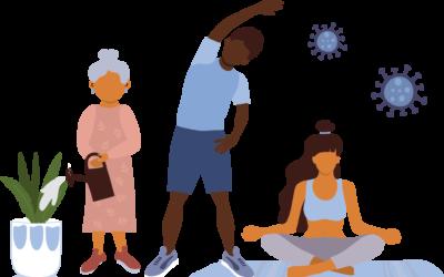 Impacto de la actividad física en la salud psicológica durante la pandemia